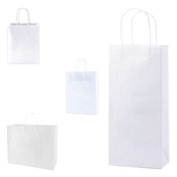 Recycle White Shopping Bags