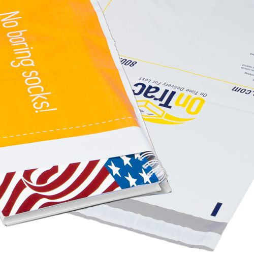 Custom Printed Poly Mailers - Co-Ex - detailed view