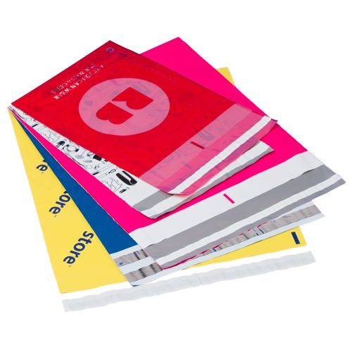 High Gloss Custom Printed Poly Mailers - thumbnail view