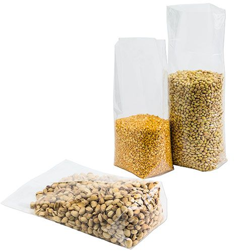 Polypropylene Bottom Gusset Bags - detailed view
