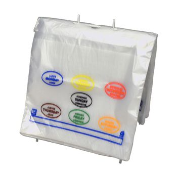 Saddle Pack Portion Control Bags
