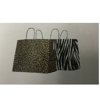 Animal Print Shopping Bags