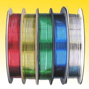 Twist-Tie Spools - Metallic - thumbnail view