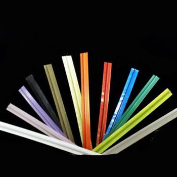 Plastic Twist Ties (Polyethylene) - detailed view