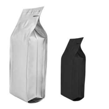 Quad-Seal Gusseted Bags w/Zipper - thumbnail view
