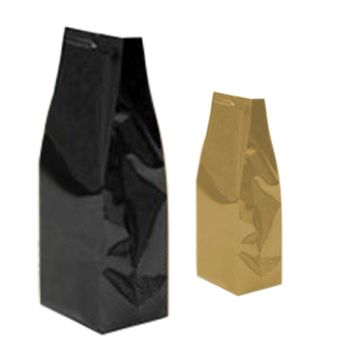 Easy-Peel Foil Gusseted Bag - detailed view