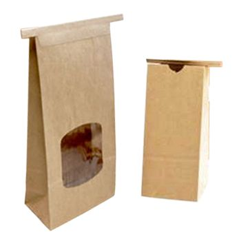 PLA-Lined Paper Bags - detailed view