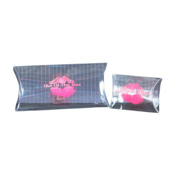 Imprinted Clear Pillow Bags