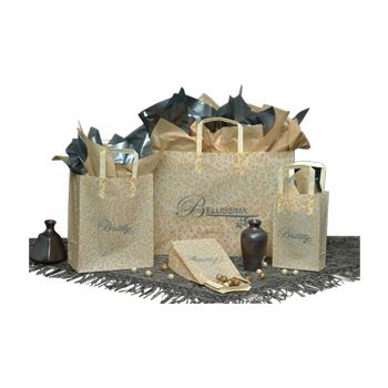Imprinted Leopard Design Frosted Bags