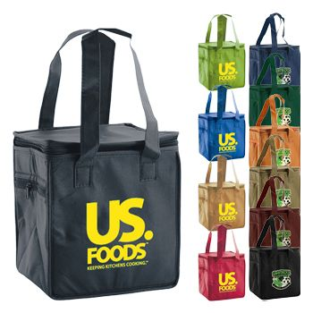Imprinted Lunch Totes - thumbnail view