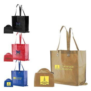Imprinted Fold Snap Totes