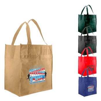 Imprinted Econo Grocery Totes
