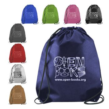 Imprinted Cynch Backpacks