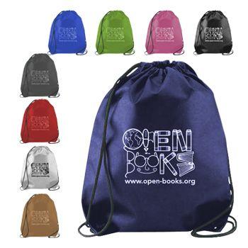 Imprinted Cynch Backpacks