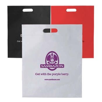 Imprinted Die Cut Handle Tote - thumbnail view