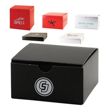 Imprinted Gloss Gift Boxes - thumbnail view