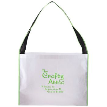 Imprinted Laminated Large Expo Totes