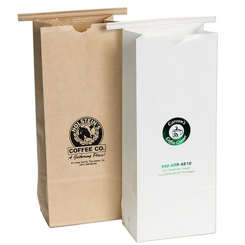 Imprinted Coffee Bags