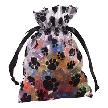 Paw Print Bags - detailed view