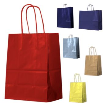 High Gloss Shopping Bags - icon view