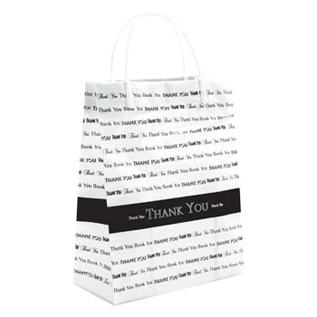Thank You Design Shopping Bag
