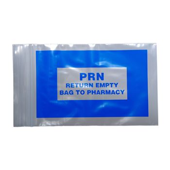 Blue PRN Bags - detailed view