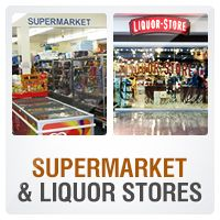 By Industry (Retail:Supermarket & Liquor Stores)