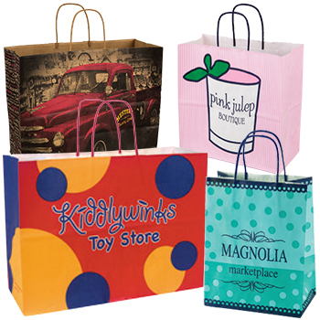 Custom Heavy Paper Shopping Bags