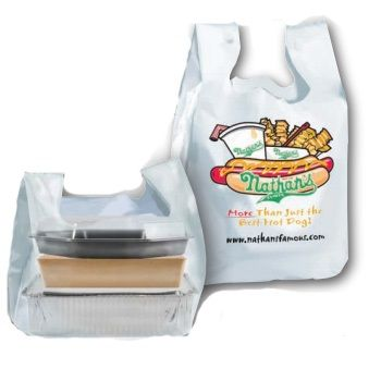 Custom Low Density T-Shirt Bags