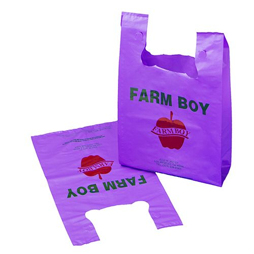 Reusable Custom Printed T-shirt Bags