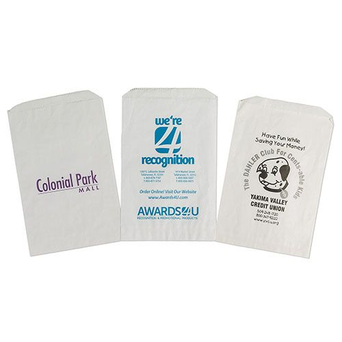 Imprinted Paper Merchandise Bags