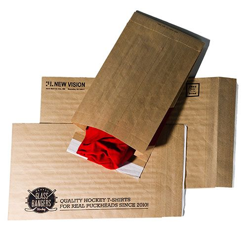 Imprinted Eco-Natural Mailers