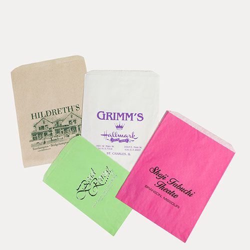 Custom Paper Merchandise Bags - detailed view