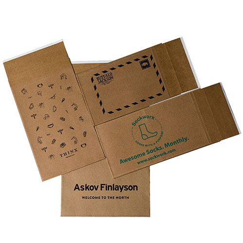 Custom Eco-Natural Mailers