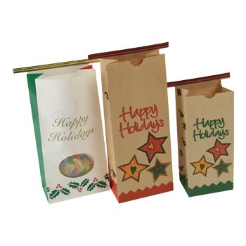 Holiday Print Coffee Bags