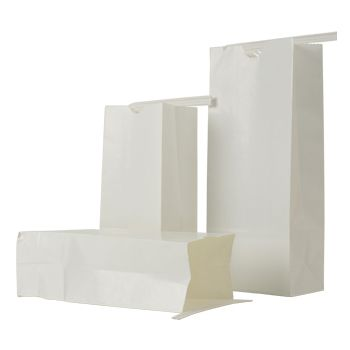 White Coffee Bags