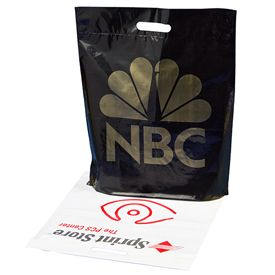 Custom Fold Over Die Cut Bags