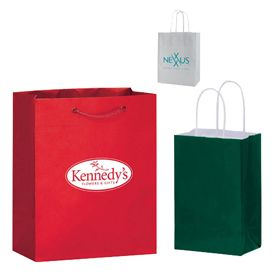 Custom Gloss Shopping Bags