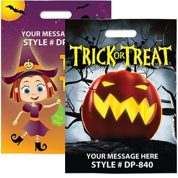 Full Color Halloween Bags