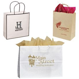 Custom Matte Shopping Bags