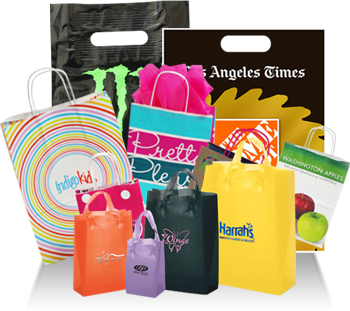 Custom Printed Plastic Bags for Promotions, Packaging and