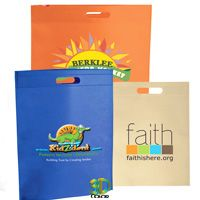 Custom Non-Woven Die Cut Handle Bags