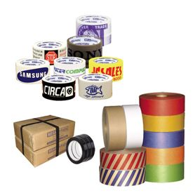 Custom Tapes, Ties and Dispensers