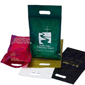 Reclosable Die Cut Bags