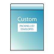 Custom Packing List Envelopes