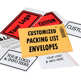Custom Packing List Envelopes