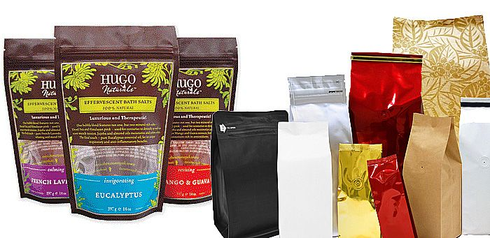 Custom Printed Standup Pouches
