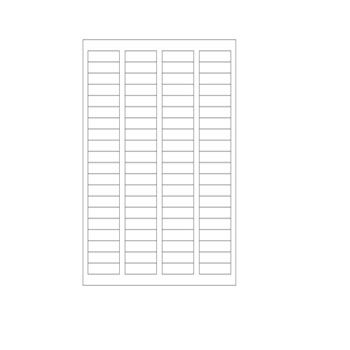 Laser Printer Labels - Size: 4 x 2