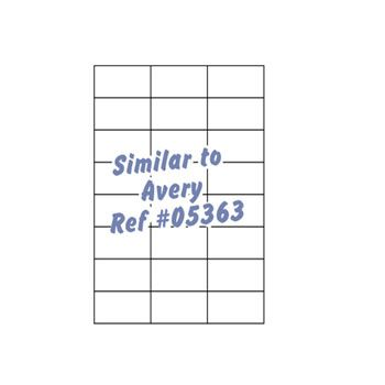 Laser Printer Labels - 4 x 4