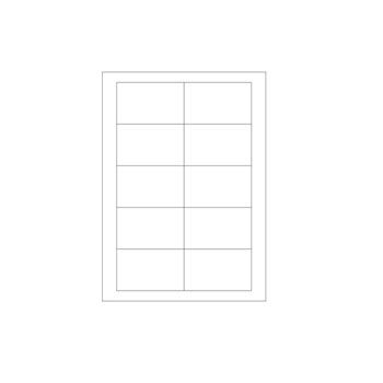 Laser Printer Labels - Size: 1 1/2 x 1 1/2